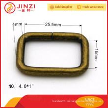 ANTI-BRASS quadratische Ringe Eisen Metall Zubehör für Taschen