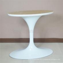 (SP-ATL001) Elegante weiße Aluminium-ovale Tulpe Tischbasis