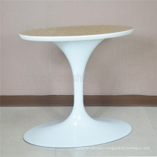 (SP-ATL001) Elegant White Aluminum Oval Tulip Table Base