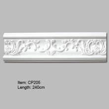 Panel de pared de poliuretano moldeado