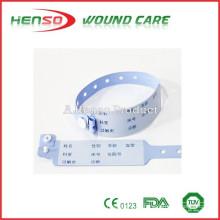 Bandas de identificación del hospital HENSO