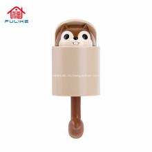 Симпатичный держатель крючка для животных Настенный держатель для ключей