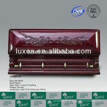 grande caixão chinês esculpido caixões para os EUA