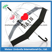 Transparent PVC Umbrella/Clear Umbrella/Bubble Umbrella/Plastic Umbrella