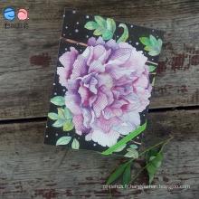 Carnet de fleurs Moleskine avec bande élastique (XL-64K-LP-01)