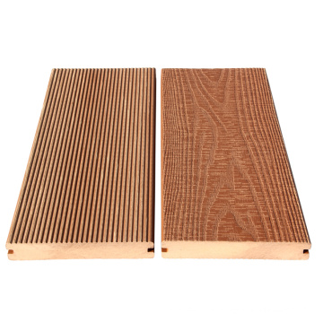 Classical 3D wood grain 25mm thickness wpc decking