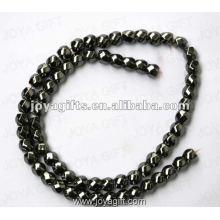 """8x8MM lose magnetische Hämatit 6Faced Twist Perlen 16 """""""