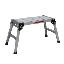 work bench folding aluminum working platform ladder