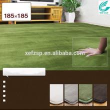 venta caliente del sueño del bebé espuma de memoria estera del piso de la pila larga 100% poliéster máquina lavable alfombra de entrada