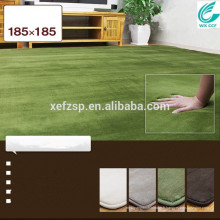 Vente chaude bébé sommeil mousse de mémoire tapis de sol longue pile 100% polyester machine lavable tapis d'entrée