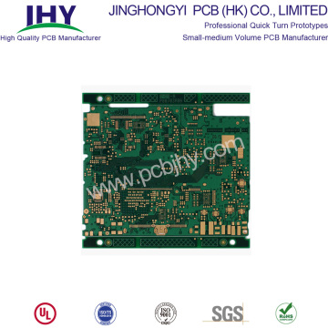 Placcatura PCB a 12 strati con immersione in superficie dorata