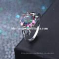 2017 один простой любви 2 грамм золота кольцо ювелирные изделия для женщин
