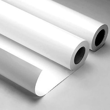 White Eco Solvent Printable Self Adhesive vinyl