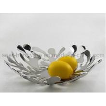 Plat à fruits en acier inoxydable (SE5652)