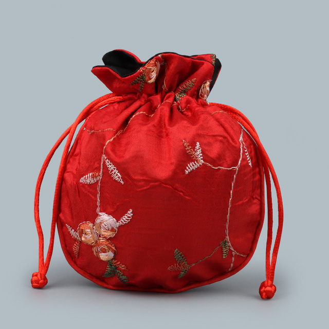 Satin Bag red