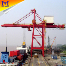 STS quayside container gantry crane specifications