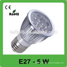 Luminaires à haute luminosité à haute luminosité à haute luminosité, éclairage LED E27 fabriqués en Chine