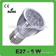 O ponto elevado do lúmen da alta qualidade conduziu a luz, luz conduzida E27 do ponto feita em China