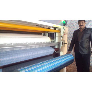 Polyurethane laminating fabric mesin laminating