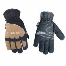 Aufbau, der mechanische Vollfinger-Sicherheitshand schützt, schützen Handschuh