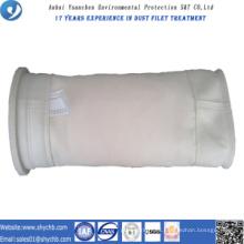 Colector de polvo no tejido PPS y PTFE Compuesto bolsa de filtro para la planta de asfalto