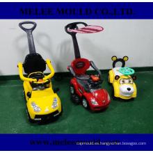 Nuevo diseño plástico niños coche molde