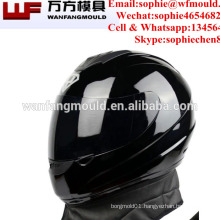 OEM Custom plastic injection Full face Motorcycle helmet mould with High quality taizhou mold factory