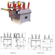 Выключатель наружной двери (ZW8-12)