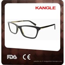 Vente chaude cadre de lunettes, fabricant de la Chine