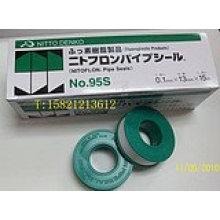 Fita NO.95S de vedação do tubo de NITTO DENKO PTFE 0,1 MM * 13mm * 15 M