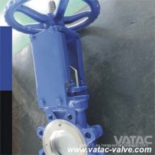 Válvula de compuerta de cuchilla completa Lug A216 Wcb