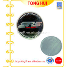 Kundenspezifischer Aluminium-Metall-Aufkleber mit 3M-Kleber