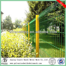 green vinyl welded fence wire anchor