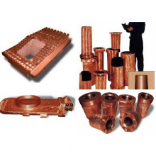 Copper Tuyeres & Cooling Plates for Blast Furnace and Electric Arc Furnace in Steel Melting Shop