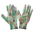 Polyester Knitted Work Glove with Nitrile Dipping (N1561-2)