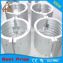 Calentador eléctrico de barril fundido de aluminio