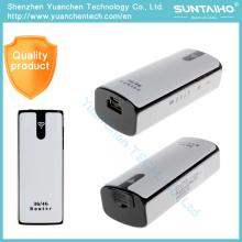 Router sin hilos del WiFi 3G Router 3G del módem de WiFi 3G con el poder de la batería del hotspot 5200mAh de la ranura para tarjeta SIM