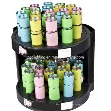 Сухой аккумулятор алюминиевый светодиодный фонарик