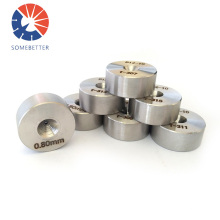 Hole Size 0.10-0.20 Mm Natural Tungsten Carbide Insert Yg12 For Pipe High Quality Pcd Wire Drawing Dies Polycrystal Diamond Die