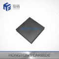 Non-Standard Tungsten Carbide Plate with One Face Grooved