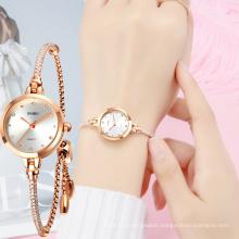 SKMEI 1805 Ladies Quartz Wristwatches Stainless Steel Bracelet Watch for Women