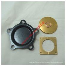 Chapa de aço / de bronze de aço personalizada do bronze que carimba as peças