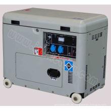 5kw Silent Type Kleiner tragbarer Benzingenerator mit CE / CIQ / ISO / Soncap