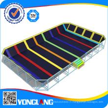 Fabricant professionnel chinois Site de trampoline intérieur installé