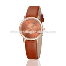 Namorada presente clássico grande discagem senhoras relógios mulher última mão relógio
