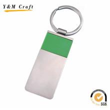 Porte-clés de sublimation en métal blanc de cadeau promotionnel de cadeau de souvenir