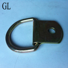 Shipping Container lashing part forged D ring