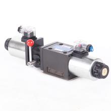 Soupape de commande directionnelle hydraulique de solénoïde 4WEMM10 hydraulique