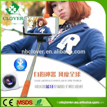 New style portable 1150MM wireless rainbow bluetooth selfie stick monopod