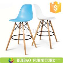 2016 Hot Sale Bar Muebles Mejor Precio Diseño Plástico Eiffel DAW Tall Bar Chair
